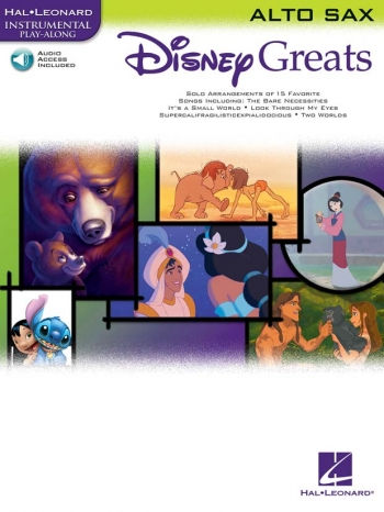 Disney Greats: Alto Saxophone: Book & Cd