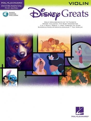 Disney Greats: Violin: Book & Cd