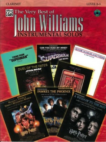 Very Best Of John Williams: Clarinet: Book & CD