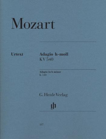Adagio: B Min: K540: Piano  (Henle)