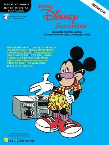 Easy Disney Favourites: Trombone: Book & CD