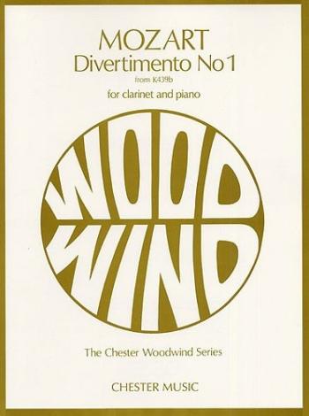 Divertimento No1 K439B: Clarinet & Piano (Chester)