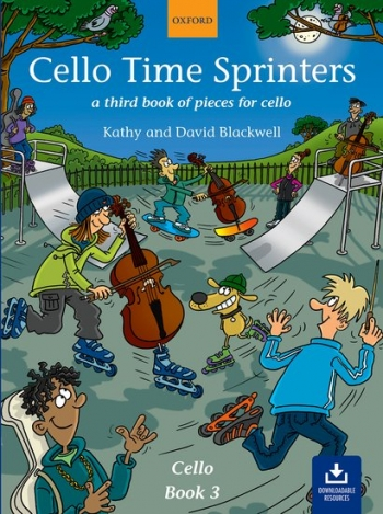 Cello Time Sprinters Book 3 Book & CD (Blackwell) (Oxford)