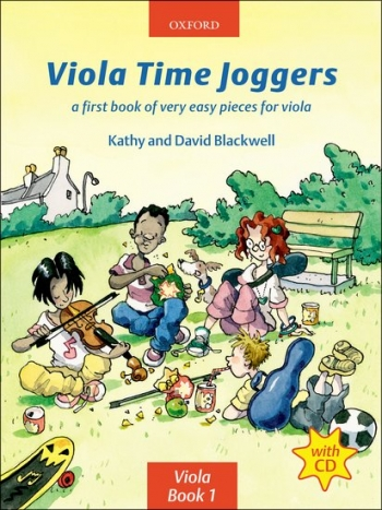 Viola Time Joggers Book 1 Viola: Book & Cd (Blackwell)