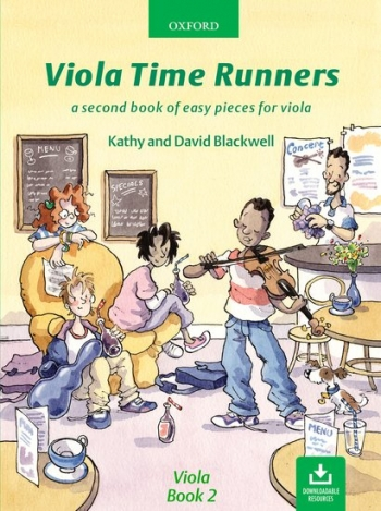 Viola Time Runners Book 2 Violin Book & Audio Online  (Blackwell)