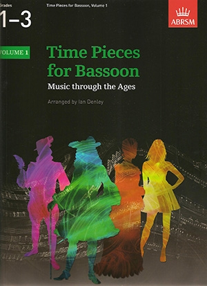 Time Pieces For Bassoon Vol.1: Bassoon & Piano (ABRSM)