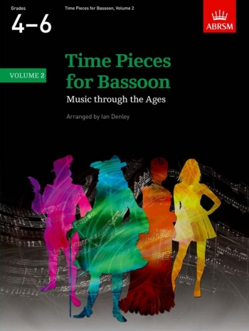 Time Pieces For Bassoon Vol.2: Bassoon & Piano (ABRSM)