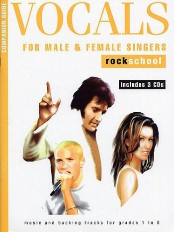 Rockschool Companion Guide Vocals For Male and Female Singers