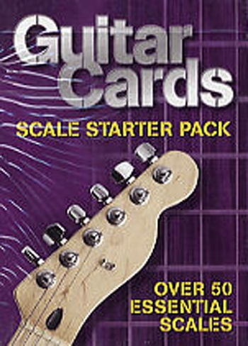 Guitar Cards: Scale Starter Pack