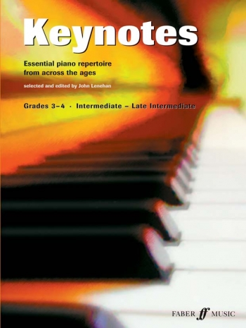 Keynotes: Grade 3-4: Intermediate: Late Intermediate: Piano