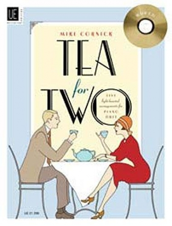 Tea For Two Piano Duet Book & Cd (cornick)