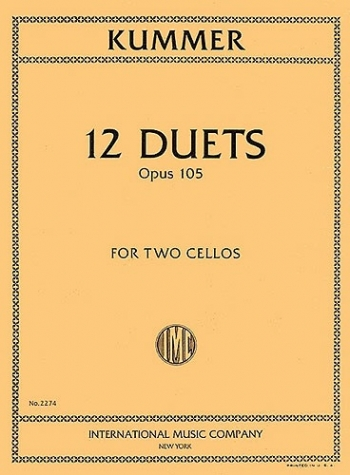 12 Duets: Cello (International)