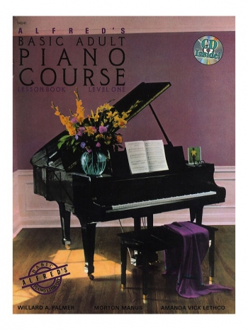 Alfred Adult Piano Course Lesson: Book 1 Bk&cd