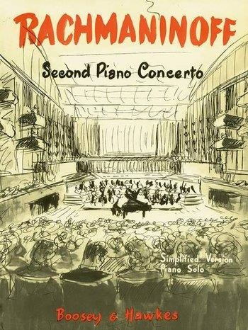Concerto No2  Simplified And Abridged Edition Theme For Piano (Boosey & Hawkes)