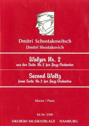 Second Waltz: Jazz Suite No.2: Piano (B&H Ed)