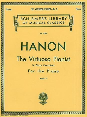 Virtuoso Pianist In 60 Exercises: Book 2  Piano Studies (Schirmer)