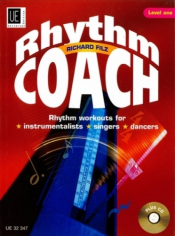 Rhythm Coach: rhythm Workouts: level 1: Book & CD