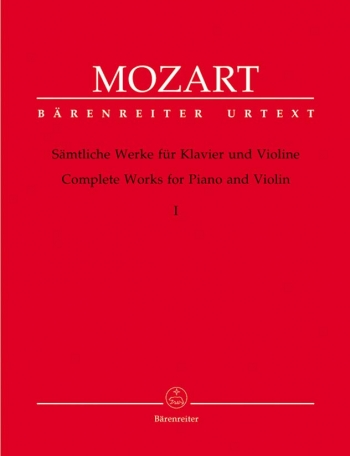 Complete Works: Violin: Book1: Violin and Piano  (Barenreiter)