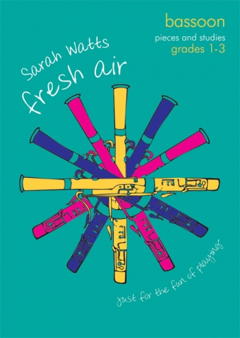 Fresh Air: Pieces & Studies: Grade 1-3: Bassoon & Piano (Sarah Watts) (Mayhew)