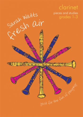 Fresh Air: Pieces & Studies: Grade 1-3: Clarinet & Piano