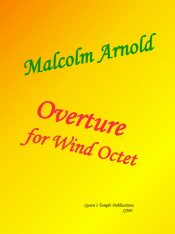 Arnold: Overture For Wind Octet: Score and Parts