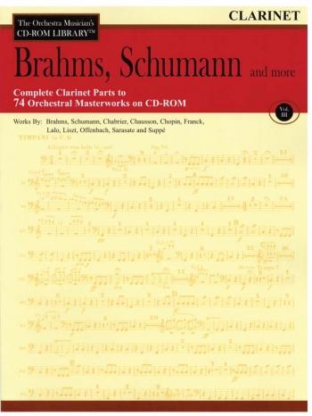 Orchestra Cd Rom Libarary: Vol 3: Brahms, Schubert