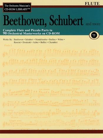 Orchestra Cd Rom Libarary: Flute: Vol 1:  Beethoven, Schubert