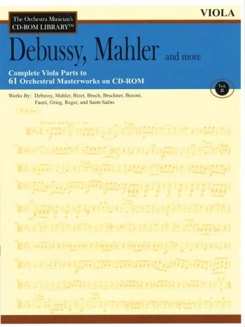 Orchestra Cd Rom Libarary: Viola: Vol 2: Debussy, Mahler