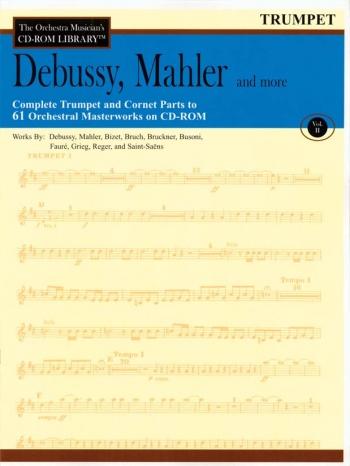 Orchestra Cd Rom Libarary: Trumpet: Vol 2: Debussy, Mahler