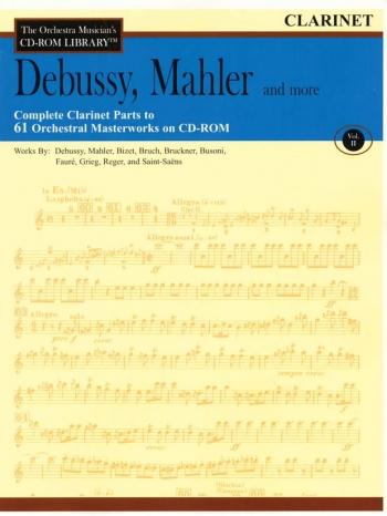 Orchestra Cd Rom Libarary: Vol 2: Debussy, Mahler
