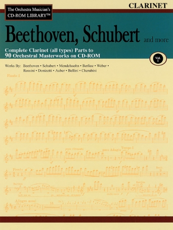 Orchestra Cd Rom Libarary: Vol 1: Beethoven, Schubert