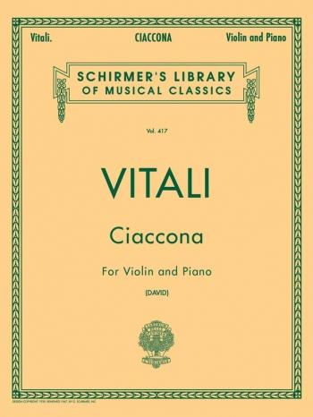 Ciaccona: Violin and Piano