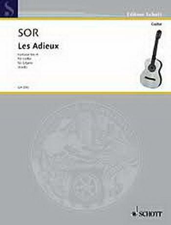 Fantasia No 6: Opus 21: Guitar