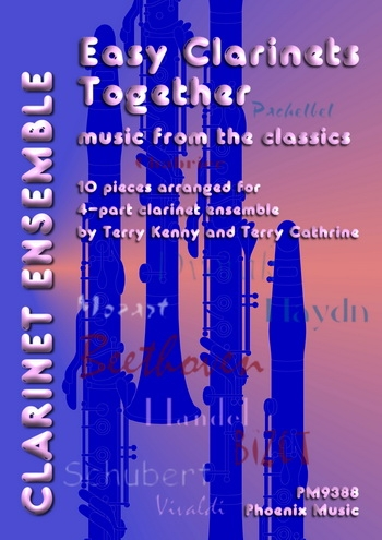 Easy Clarinets Together: Music From The Classics: Clarinet Duets Trios Etc