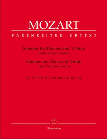 Sonatas: Early Viennese: Violin and Piano (Barenreiter)
