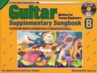 Progressive Guitar Method for the Young Beginner Book 1: Supplement B Book & CD (Turner)