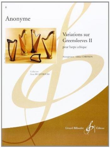 Greensleeves: Variations: 2: Harp: Piano