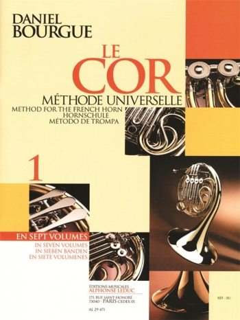 Bourgue: Le Cor: Vol 1: French Horn Method