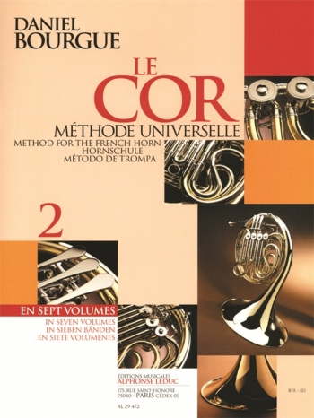 Bourgue: Le Cor: Vol 2: French Horn Method