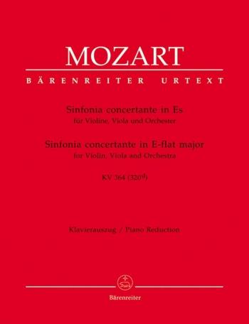 Sinfonia Concertante: Eb: K364 Violin Viola And Piano (Barenreiter)