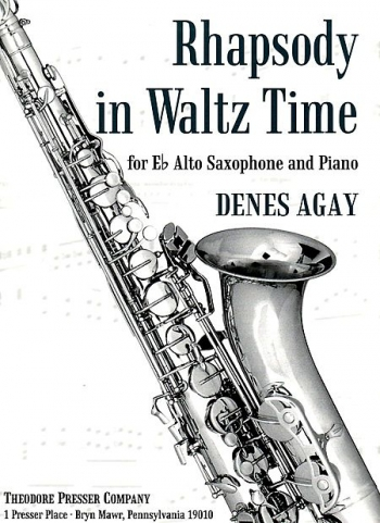 Rhapsody In Waltz Time: Alto Saxophone