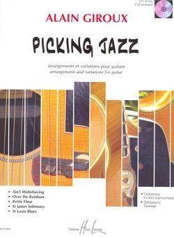Picking Jazz: Guitar: Book & CD