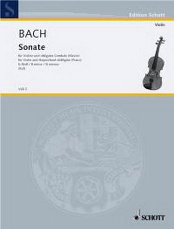 Sonata B Minor: Violin & Piano (Schott)