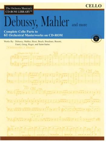 Orchestra Cd Rom Libarary: Cello: Vol 2: Debussy, Mahler