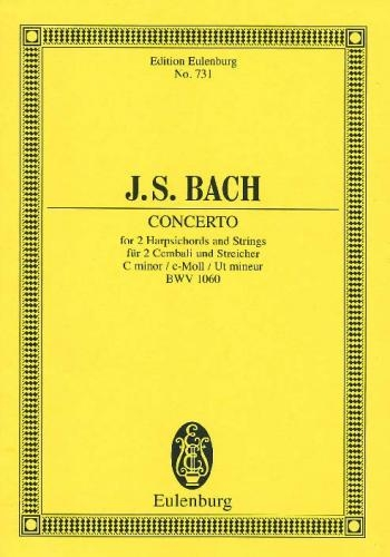 Concerto: 2 Harpsichords: C Minor: Bwv1060: Miniature Score0
