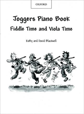 Joggers Piano Book: Fiddle and Viola Time Piano Accompaniment