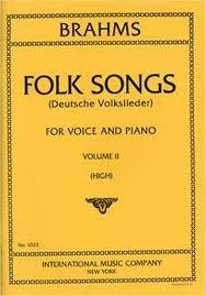 Folk Songs: Vol 2: High Voice
