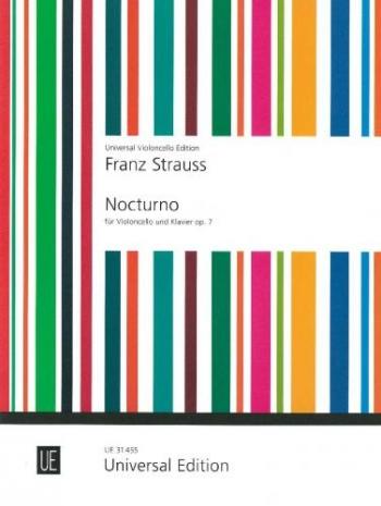 Nocturne Op7:  Cello & Piano (Universal)