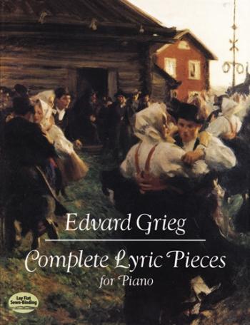 Lyric Pieces: Complete: Piano  (Dover)