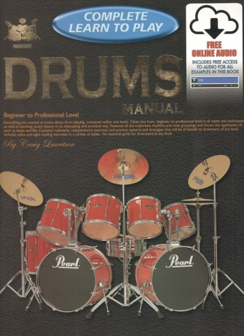Complete Learn To Play: Drums: Book And Audio
